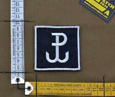 "Ricamata / Embroidered Patch ""Grom"" Black with VELCRO® brand hook"
