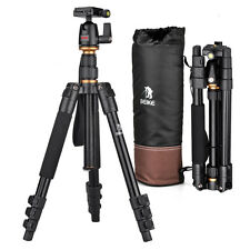 Pro Beike Bk-555 Tripod Ballhead for Canon Dslr Camera Folded Portable