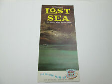 Vintage Lost Sea Tennessee Underground Lake Ephemera Brochure Advertisement