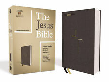 The Jesus Bible, ESV Edition, Cloth Over Board, Grey...9780310452201