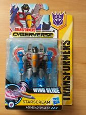 TRANSFORMERS - CYBERVERSE - ACTION ATTACKERS - STARSCREAM - NEW