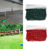 20X2.5feet Portable Badminton Net Beach Volleyball Tennis Standard Training Net