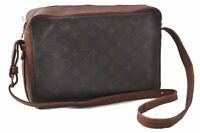 Authentic Louis Vuitton Monogram Sac Bandouliere 30 Shoulder Bag M51364 LV C2129