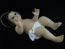 10 Inch Baby Jesus with Glass Eyes Figurine Statue Christmas Figurine NINO DIOS