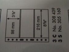 LEUCHTTURM CONFEZIONE 5 FOGLI GRANDE FONDO NERO 3+3 SCOMPARTI  3S