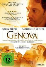 GENOVA / MIT: COLIN FIRTH, CATHERINE KEENER / DVD - NEUWERTIG