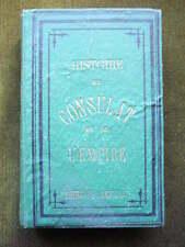 HISTOIRE ILLUSTREE DU CONSULAT ET DE L'EMPIRE A. Huard 1775 relié toile editeur