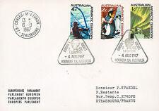 "ELDO-3B FDC AUSTRALIE WOOMERA ""Lancement Fusée EUROPA I - Vol F.6/1."" 1967"
