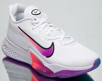 Nike Air Zoom BB NXT Men's White Hyper Violet Athletic Basketball Sneakers Shoes