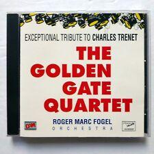 GOLDEN GATE QUARTET exceptional Tribute To Charles Trenet CD NEAR-MINT KzCd63