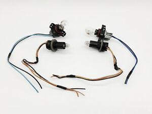 2x OEM 07-13 Cadillac Escalade DRL Daytime Running Parking Light Bulb Socket Set