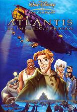 PELICULA DVD ATLANTIS EL IMPERIO PERDIDO WALT DISNEY CLASICO Nº41_OTRO