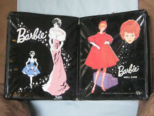 Vintage Barbie 2 Cases 1962 Ponytail & 1963 SPP Black same size!