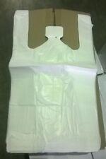 2000 Tragetaschen Plastiktüten Hemdchentragetaschen Tüten 28 x 14 x 48 cm weiß