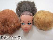 VINTAGE BARBIE FASHION QUEEN DOLL HEAD No & FASHION QUEEN WIGS No 870
