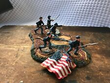 """Conte ACW 59001 / Don Troiani """"Lions of The Round Top"""" (Incomplete) ACW Figures"""