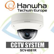 Samsung SCV-6081R HD-SDI Outdoor CCTV Vandal Resistant IR DOME CAMERA Night VSON