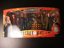 DR WHO DALEKS IN MANHATTAN COLLECTORS SET INCL 10TH DOCTOR AND DALEK THAY SEALED