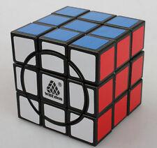 WitEden Super 3x3x3 Crazy Magic cube speed Puzzle black
