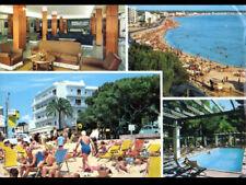 CAN PASTILLA / MALLORCA (ESPAGNE) CITROEN 2CV à la PLAGE , PISCINE & HOTEL OASIS