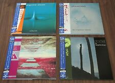 TANGERINE DREAM Japan PROMO mini LP CD x 4  set CARD SLEEVE obi NR MINT SHM-CD