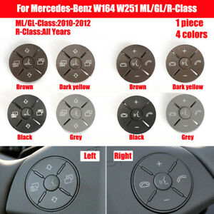For Mercedes-Benz W164 W251 ML/GL/R-Class 2010-2012 Steering Wheel Switch Button