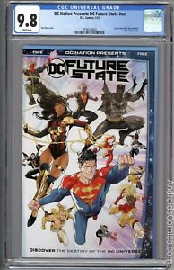 DC Nation Presents Future State Preview #NN ~  1st YARA FLOR ~ CGC 9.8
