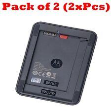 2x OEM Motorola External Battery Charger For BF5X BF6X BH5X BH6X BW8X HF5X HW4X