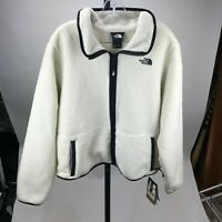 The North Face WOMEN'S DUNRAVEN SHERPA CROP JACKET XL MSRP $120