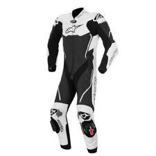 Combinaisons de motocyclette une pièce noirs pour homme