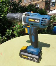 Workzone 18 Volt Drill with Lithium Battery