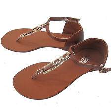 Ladies Brand  New Flat Toe Post Shoes Flip Flops Sandals Summer Beach All Sizes