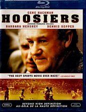 NEW BLU-RAY // HOOSIERS / GENE HACKMAN ,DENNIS HOPPER, BARBARA HERSHEY,BASKETBAL
