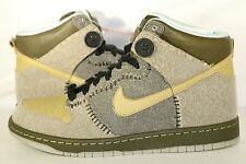 Nike SB Dunk High Coraline Tan/Brown Button Promo Sample DS SZ 9.5