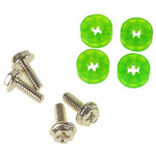 Lamptron HDD Screws & Rubber Washers  (4 Pieces) - UV Green