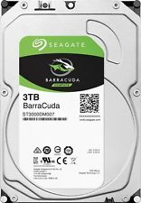 """Seagate BarraCuda 3TB 3.5"""" SATA Internal Desktop Hard Drive HDD 5400RPM 256MB"""