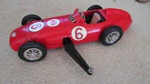 Cox Thimble Drome Mercedes Benz W 196 gas powered tether survivor race car VG+