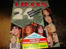 CIRCUS magazine 8/1987 motley crue/judas priest/poison/keel/david lee roth