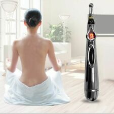 Electric Acupuncture Point Massage Pen Pain Relief Laser Therapy Meridian Energy