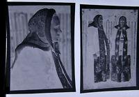 Trachten Hans Retzlaff Fotograf   2 x orig.Negativ  Alt und ORIGINAL