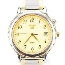 D971 Vintage Mens Seiko AGS Spirit Kinetic Watch Needs Repair JDM 5M22-6A70 68.4