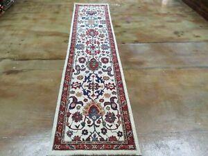 Oriental Hand-Knotted Peshawar Chobi Mahal Design Wool Rug 2.5 X 11.8 Brrsf-1824