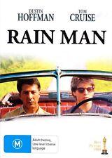 Rain Man (1988) DVD-Dustin Hoffman-Tom Cruise-Valeria Golino-Widescreen (2009)