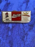 Pin Coca Cola-Olympia/Olympics/Olympische Spiele 1992 in Albertville & Barcelona