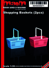 1/35 scale 3D printed model kit - Shopping Baskets (2pcs) / 1:35