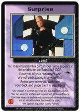 Babylon 5 CCG Premier Promo Card Surprise Lightly Used/Played