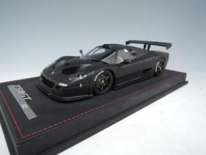 1/18 AB Models Ferrari F50 GT in Matte Black Limited 50 pcs n BBR / MR Leather