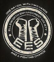 Ellsworth Enhancement Society EES XL T-Shirt, CM Punk James Ellsworth Mashup