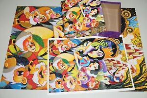 """Ceaco Disney The Enchantment of Snow White 1,000 Piece Jigsaw Puzzle 26.6"""" x 19"""""""