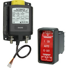 Blue Sea 7622 ML-ACR 12V Heavy Duty Automatic Charging Relay with Control Switch